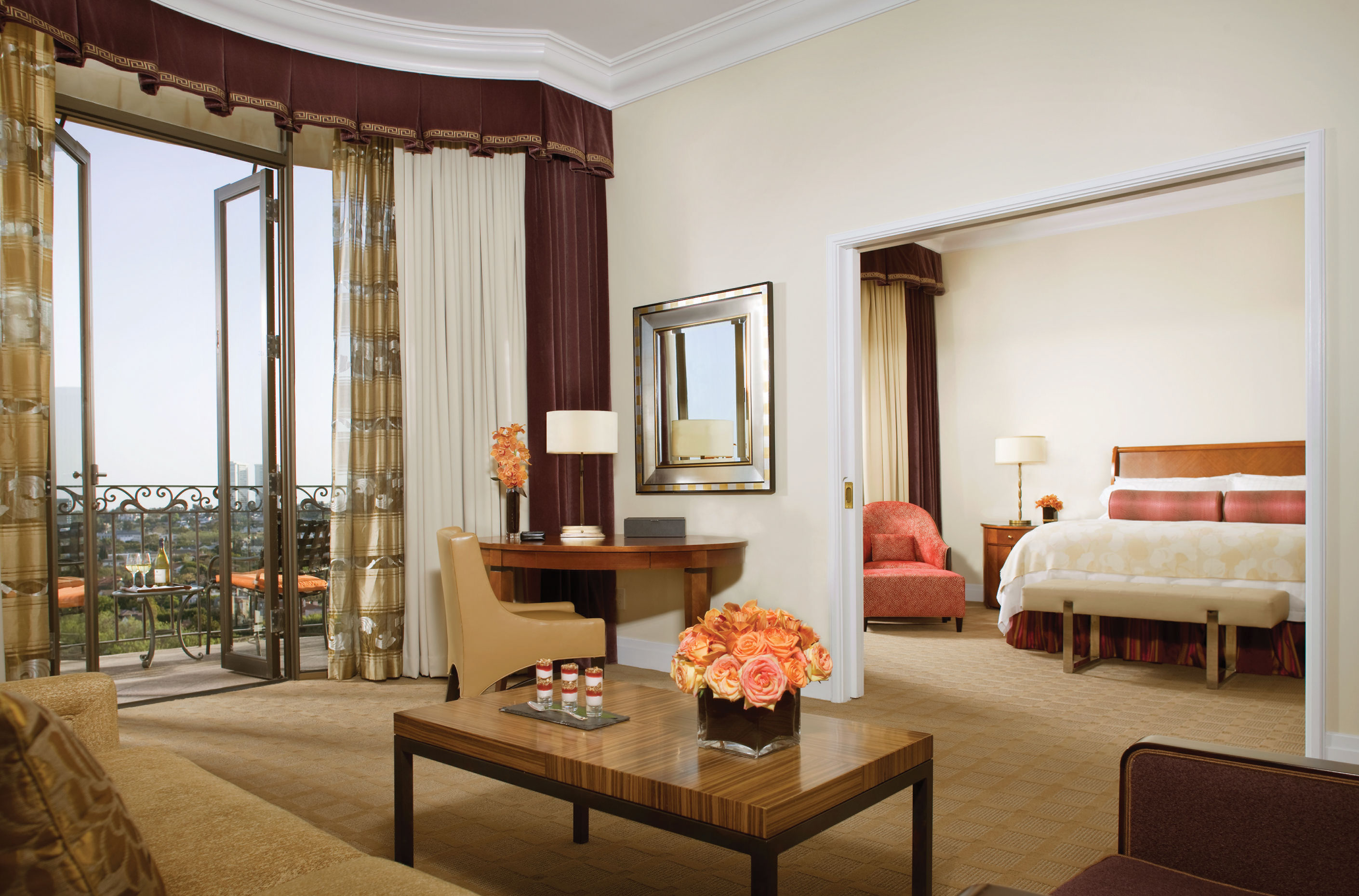 The Beverly Wilshire's signature one-bedroom suite averages around $2,000 per night.