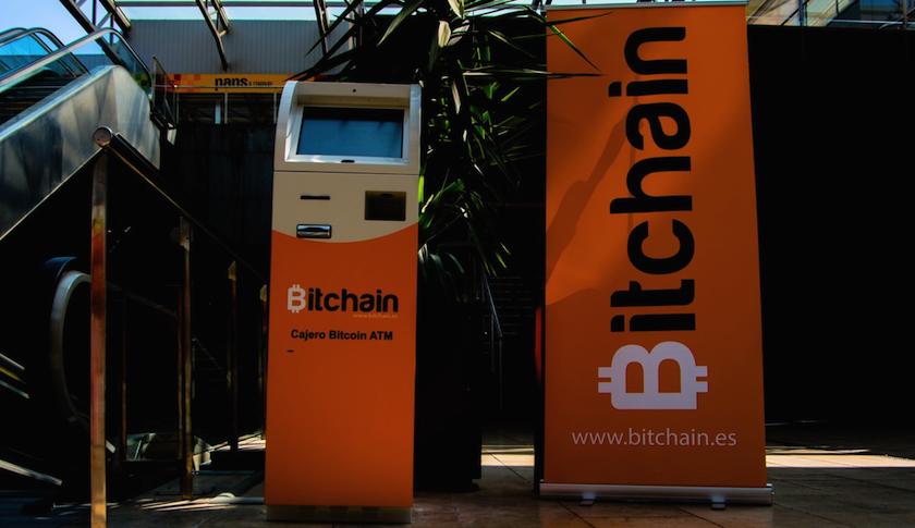 A Bitchain bitcoin ATM