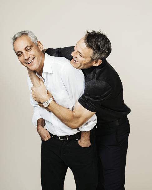Rahm and Ari Emanuel