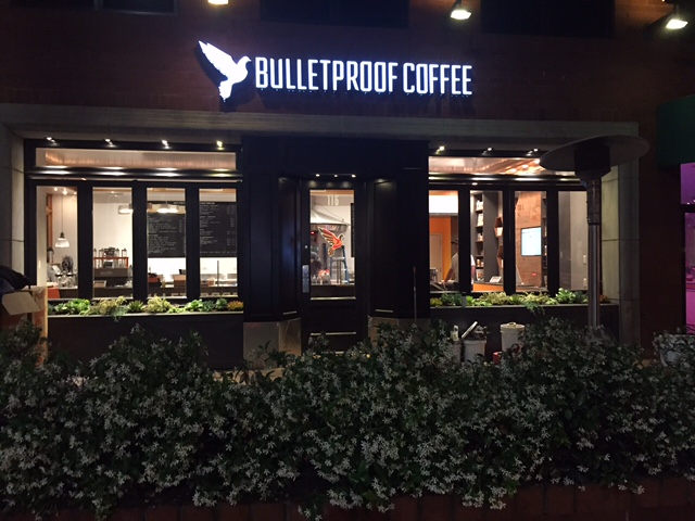 Photo of the upcoming Bulletproof coffee shop in Santa Monica, Calif.