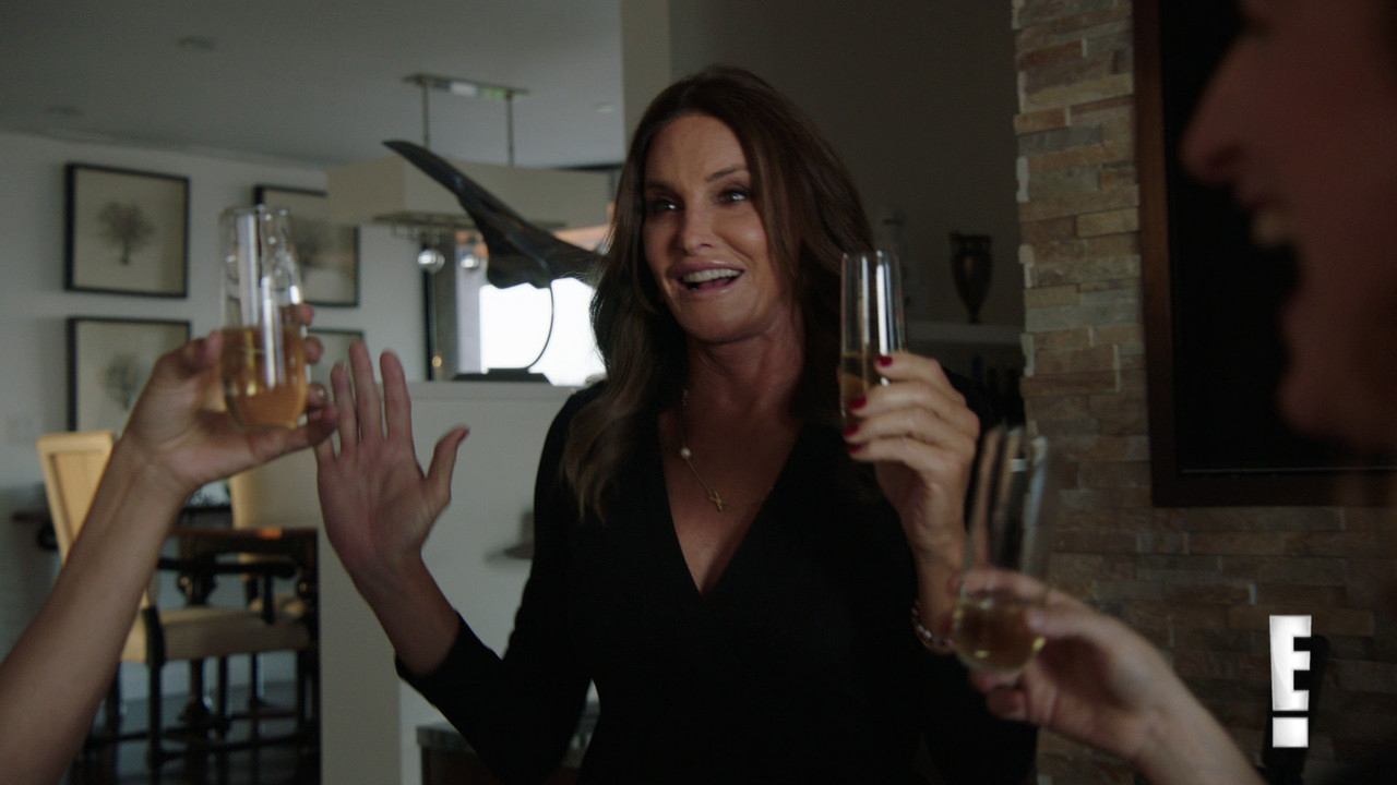 Caitlyn Jenner's new reality show airs Sunday evening.