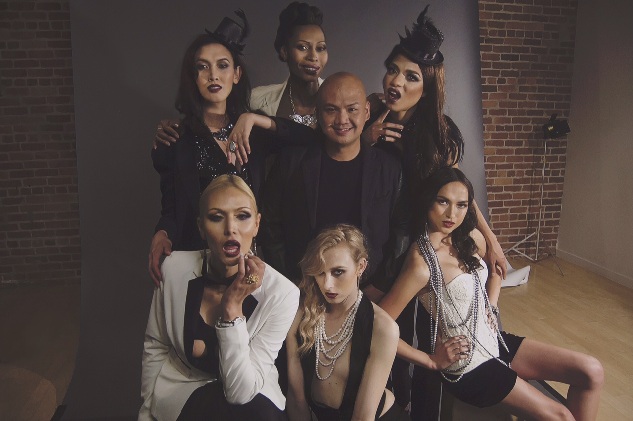 Cecilio Asuncion, director of the world's first transgender modeling agency
