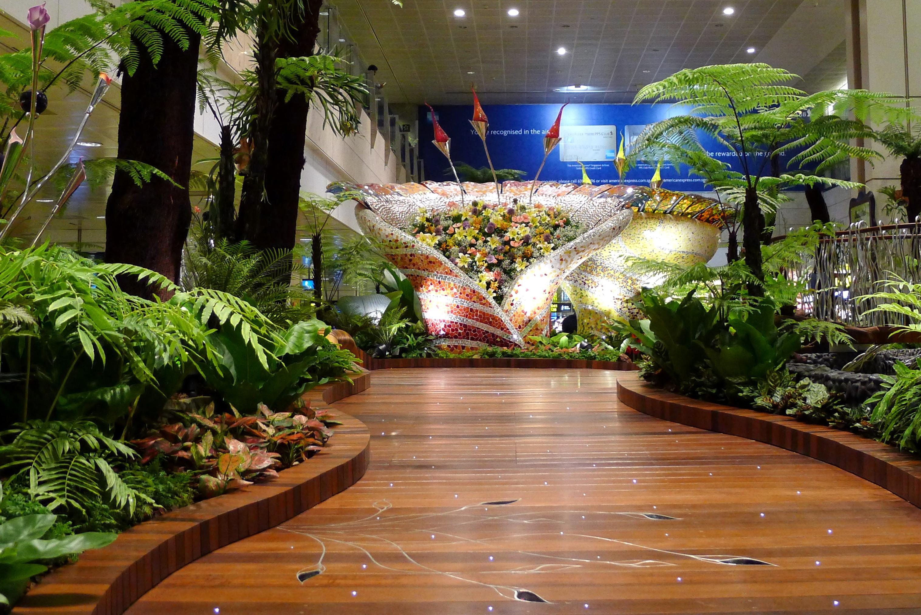 No. 1 International: Changi International Airport, Singapore