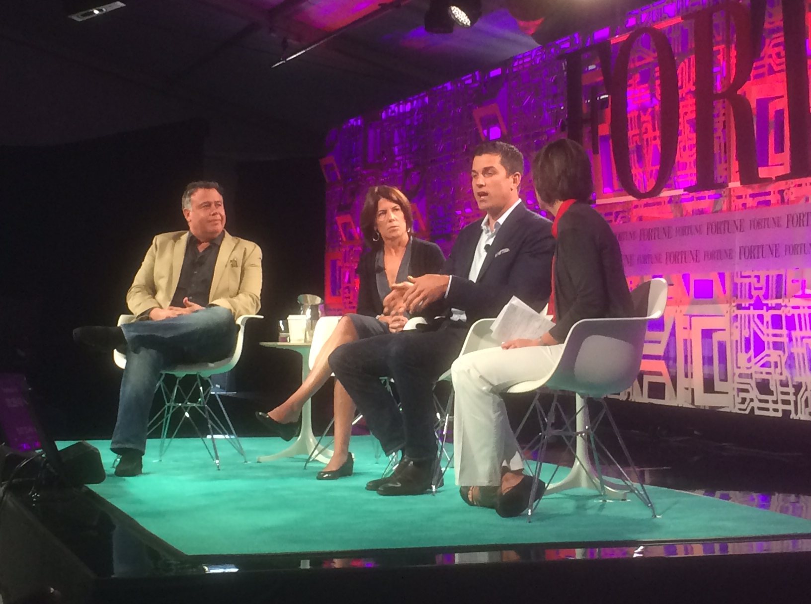 Dion Weisler of HP, Helena Foulkes of CVS, Tom Farley of NYSE at 2015 Fortune Brainstorm Tech