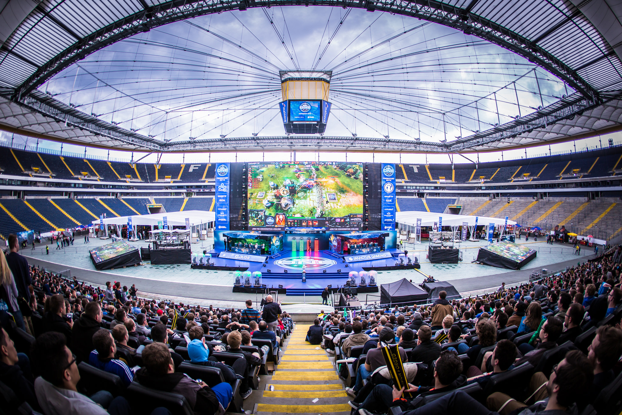 ESL One Frankfurt attracted over 30,000 eSports fans to a soccer stadium.
