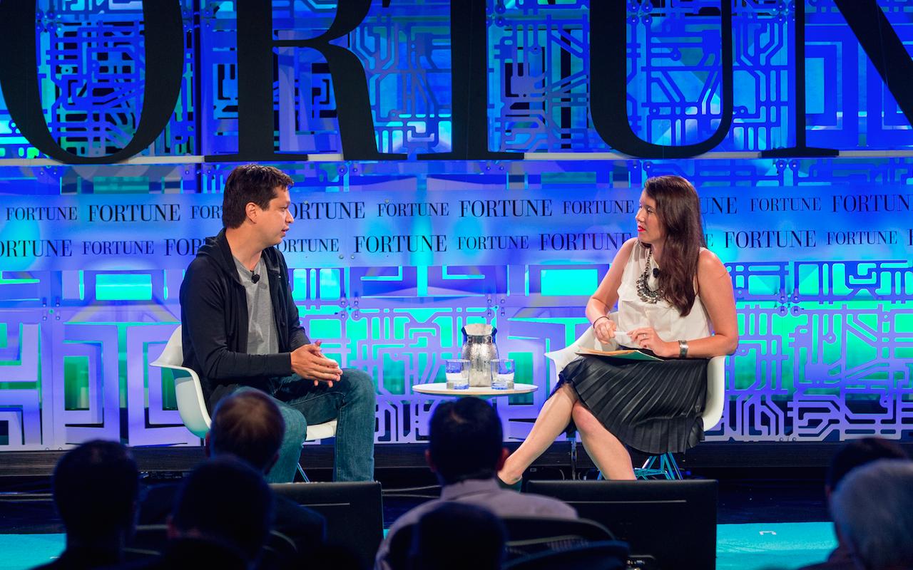 Pinterest CEO Ben Silbermann, Erin Griffith at Fortune Brainstorm Tech 2015