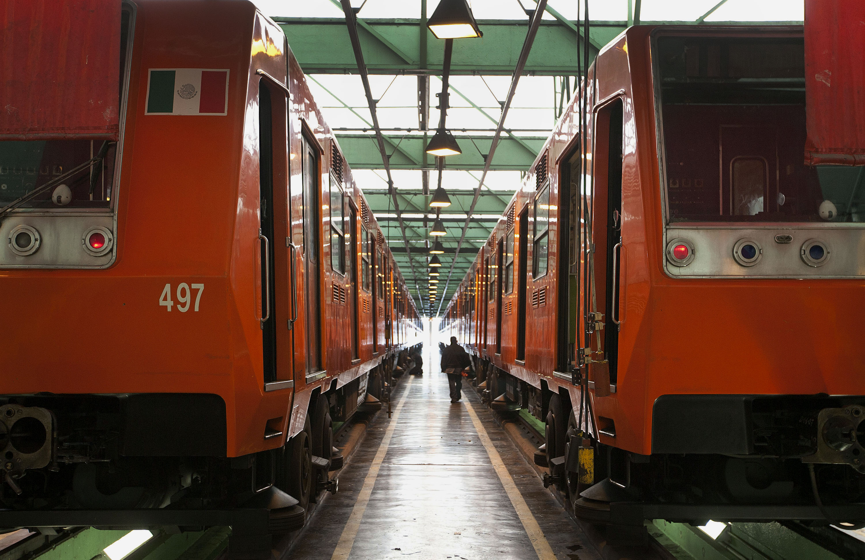 Operations Inside The Mexico City Metro