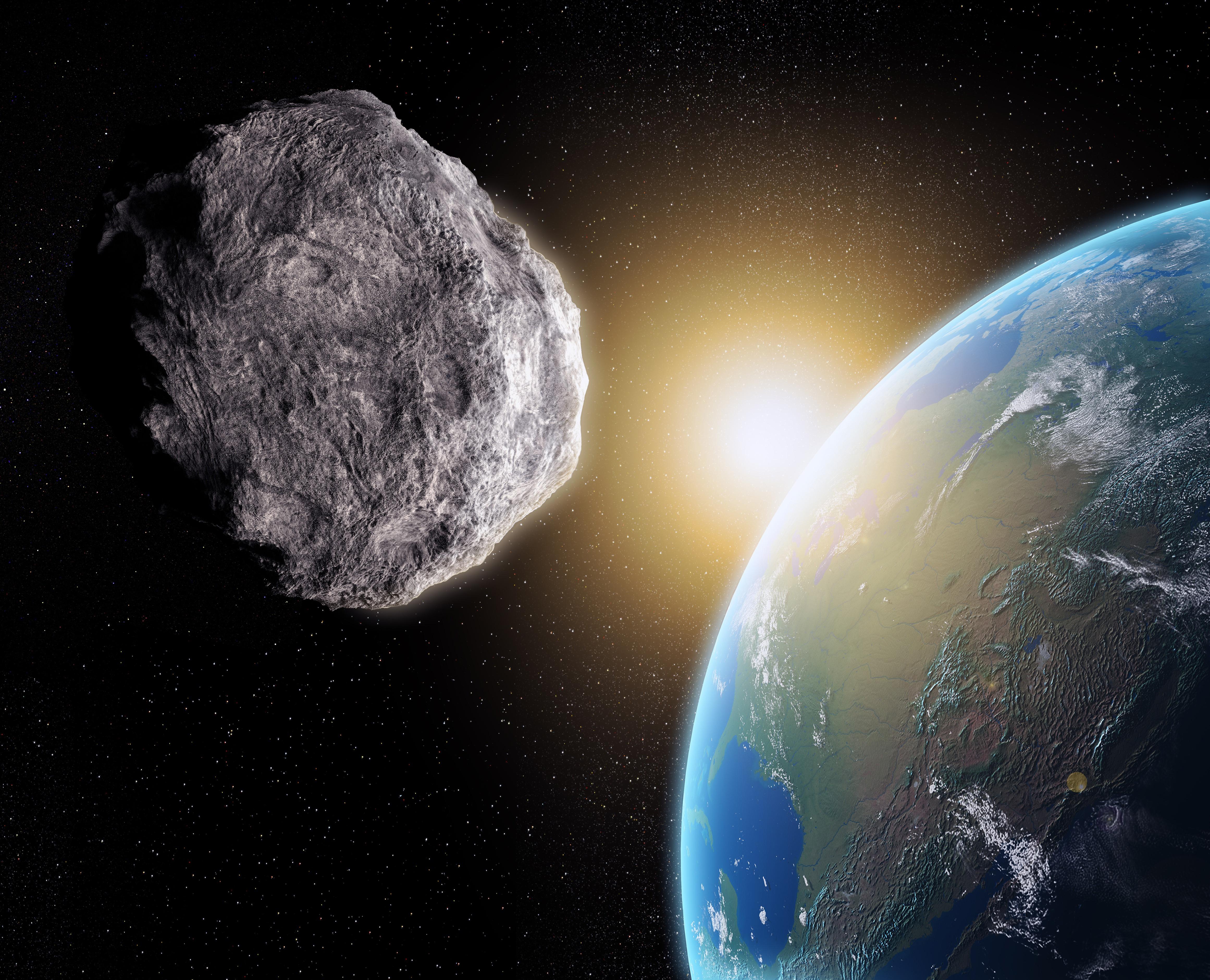 Asteroid rendering