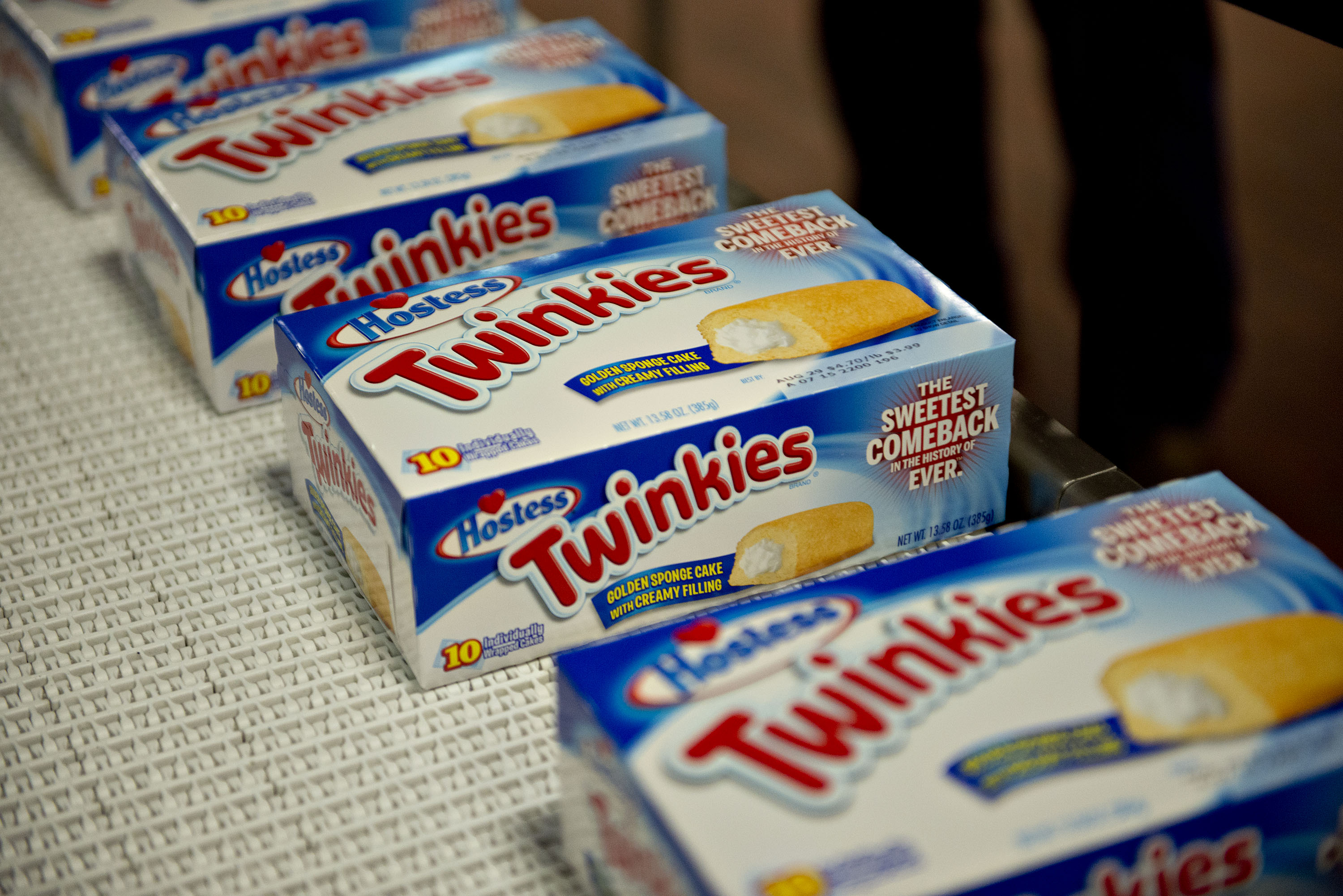 Twinkies Production Inside Hostess Brands LLC Facilities As The Snack Cake Returns To Shelves