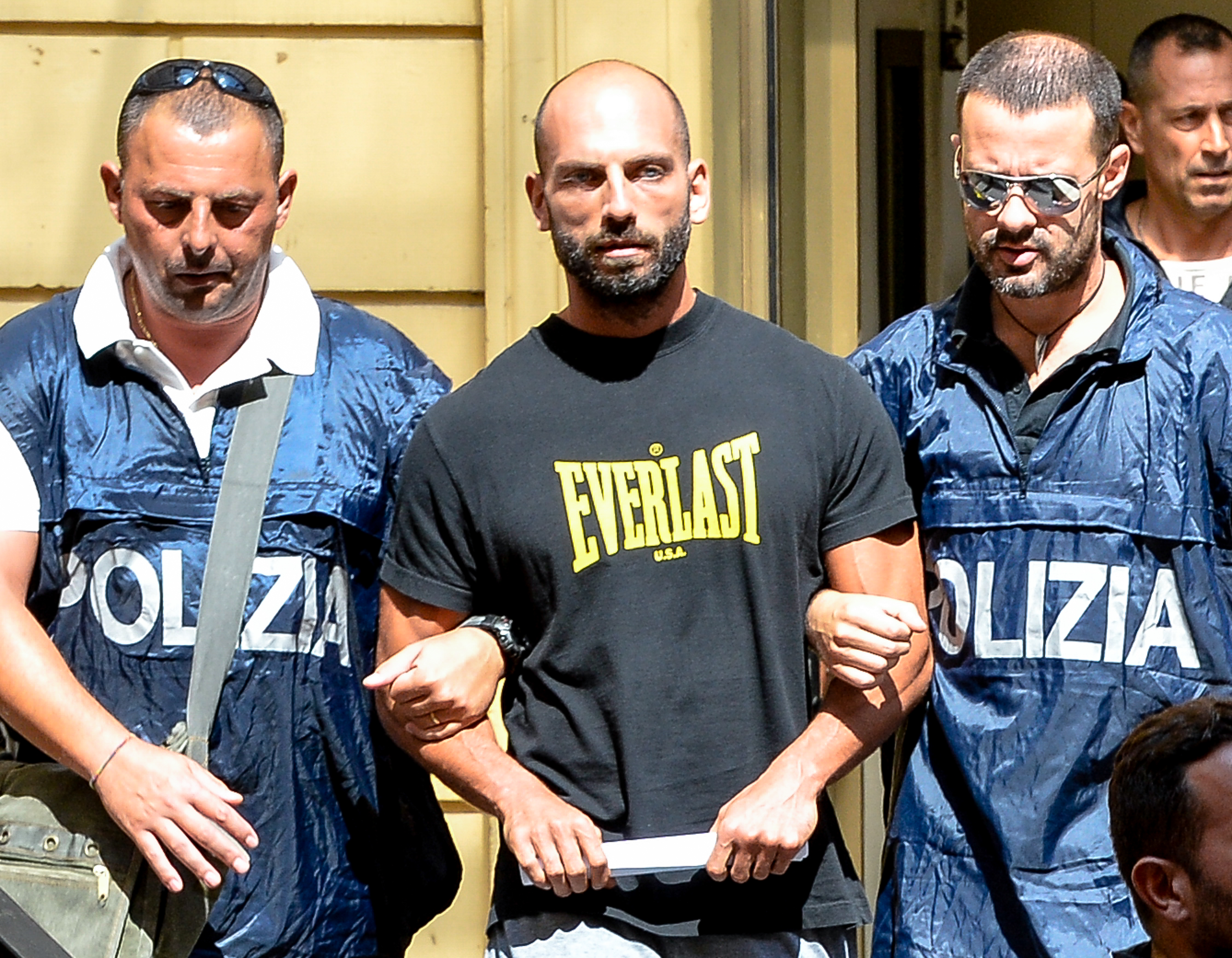 ITALY-CRIME-MAFIA-ARRESTS