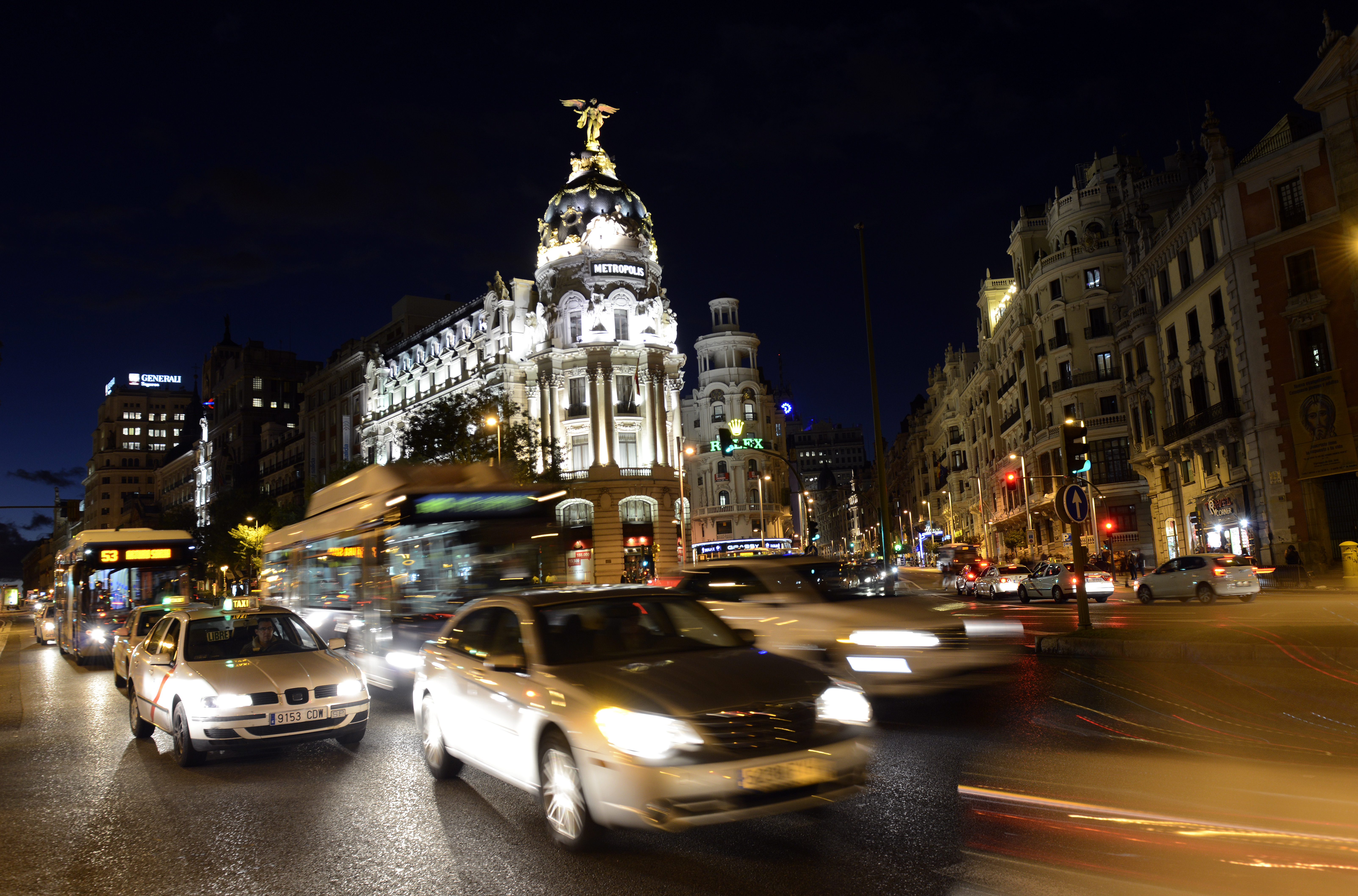 SPAIN-MADRID-SKYLINE