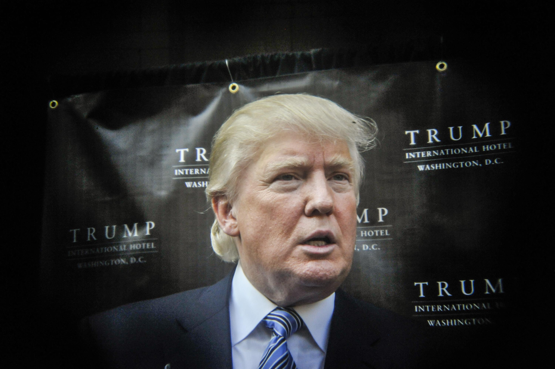Trump International Hotel Washington, D.C Groundbreaking Ceremony