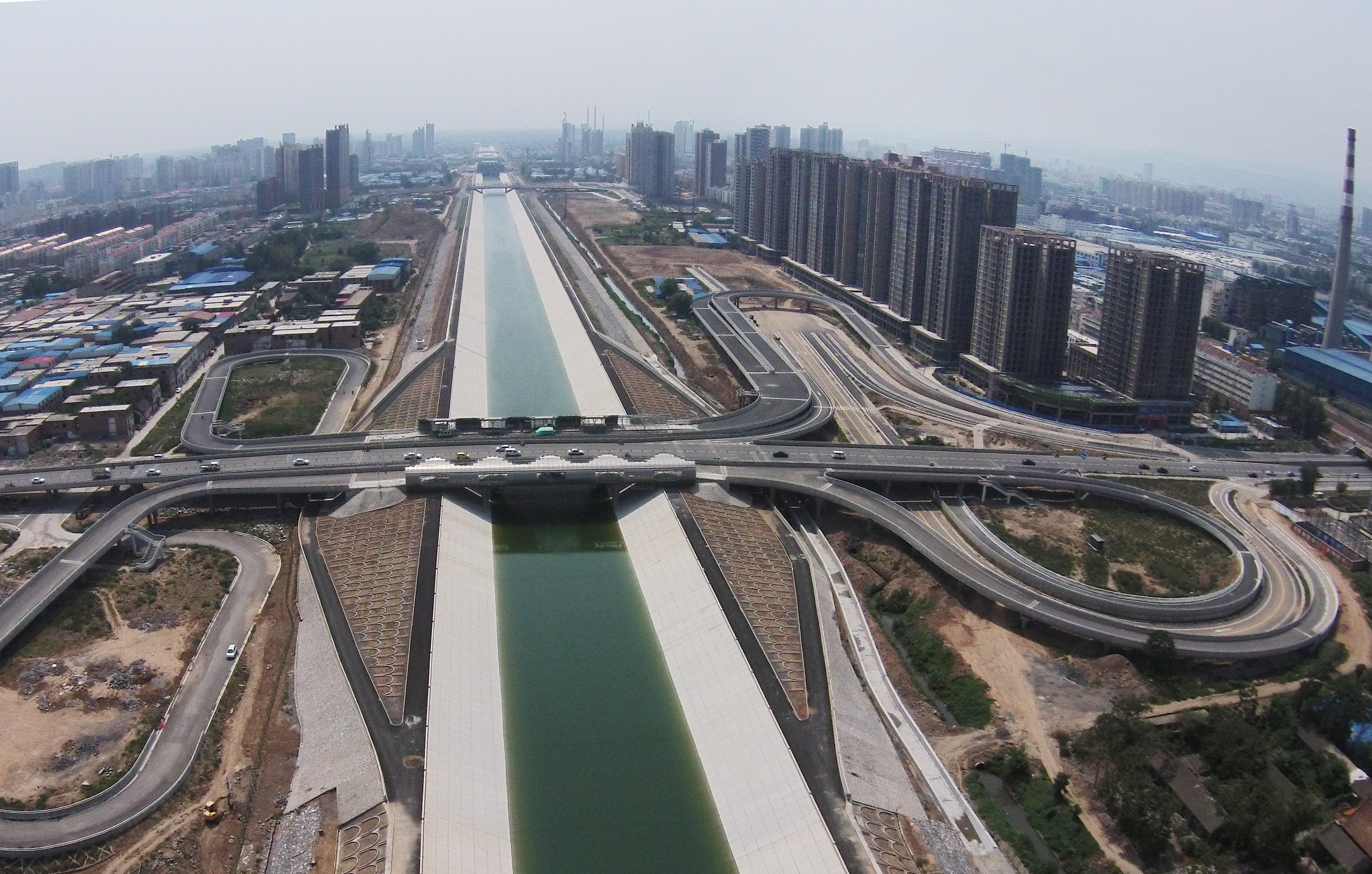 South-to-north Water Transfer Project Henan Section Is Ready