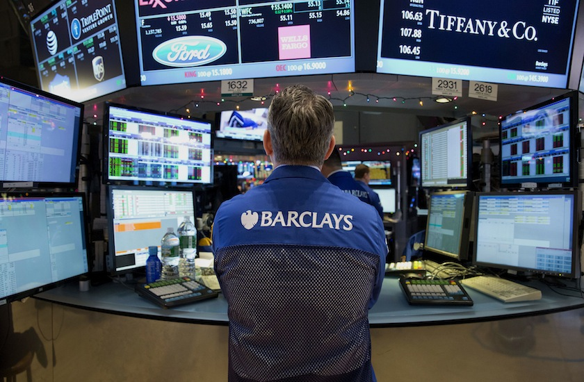 Barclays trader