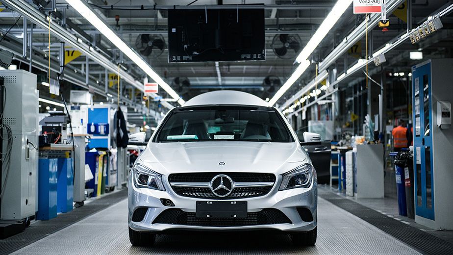 Automobile Production At Mercedes-Benz AG's Hungarian Plant