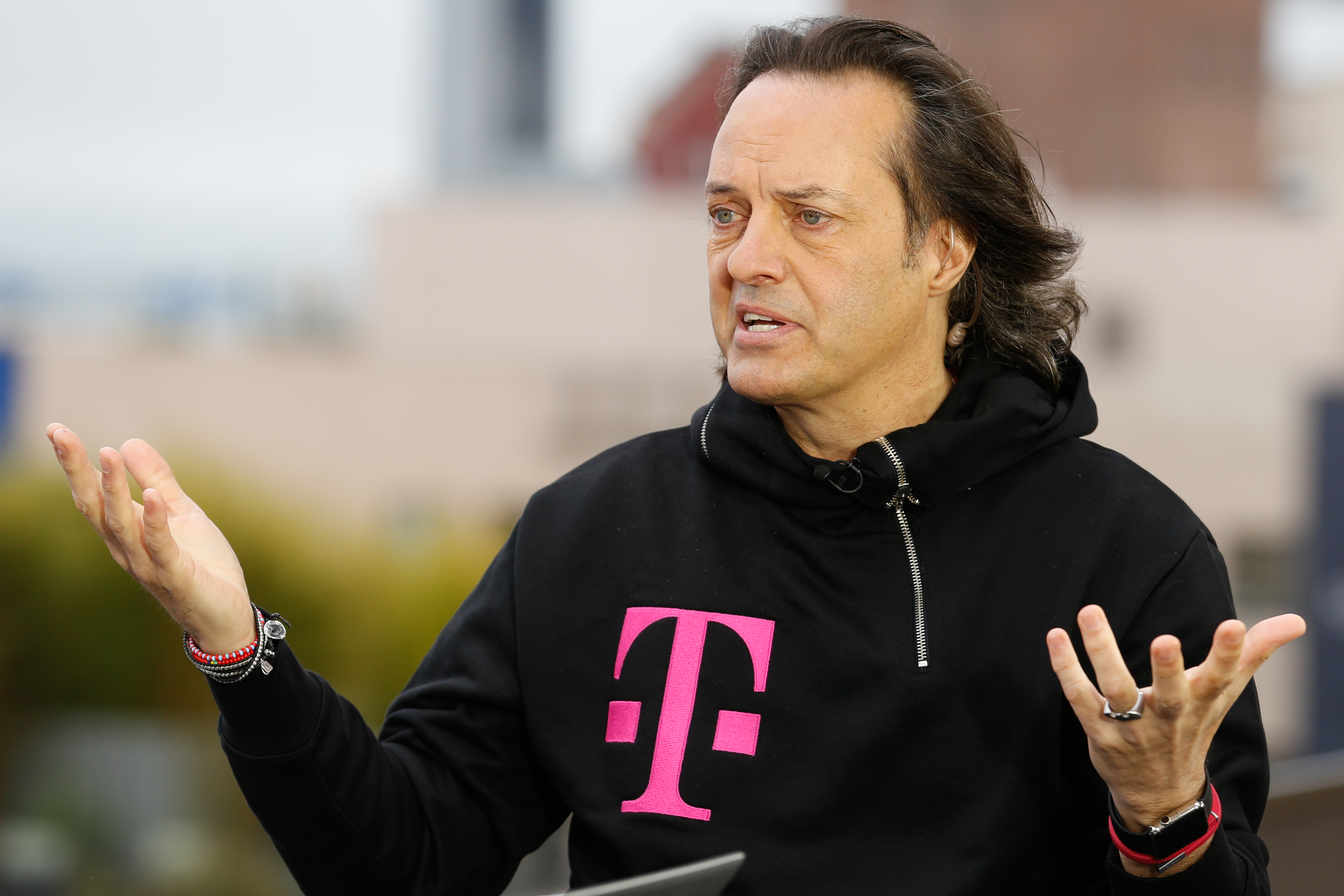 John Legere, CEO and President of T-Mobile US.