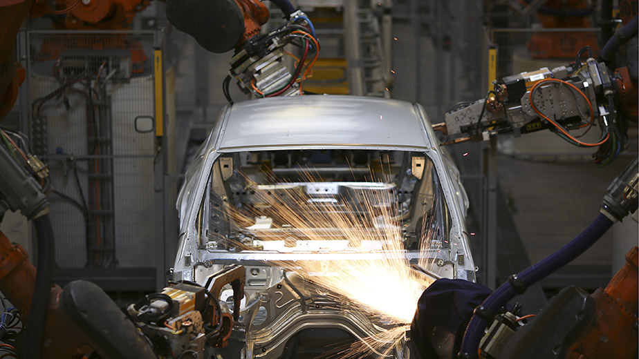 Inside BMW AG's Plant Ahead Of ISM Manufacturing Figures
