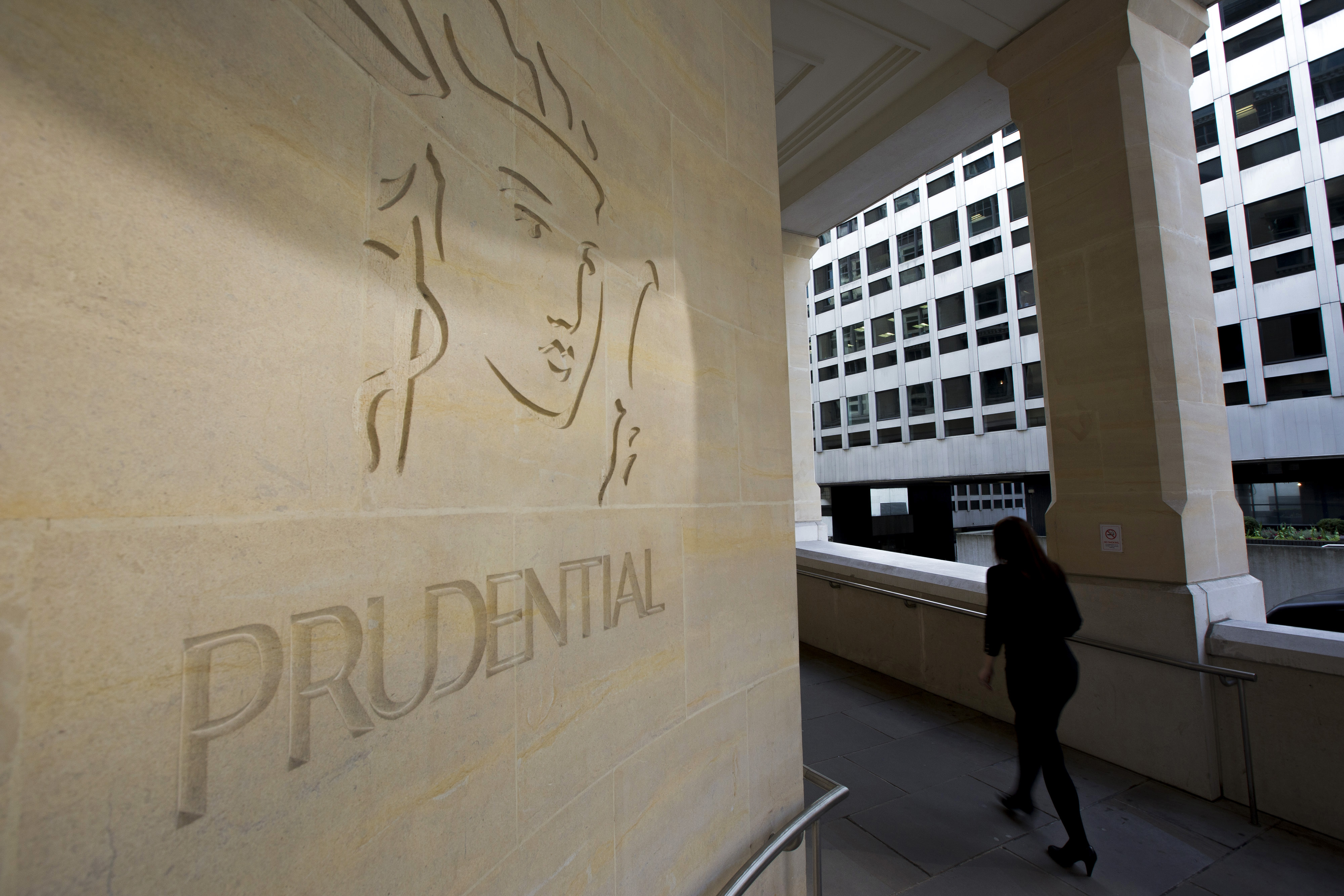 Prudential Plc Headquarters Ahead Of Full Year Results
