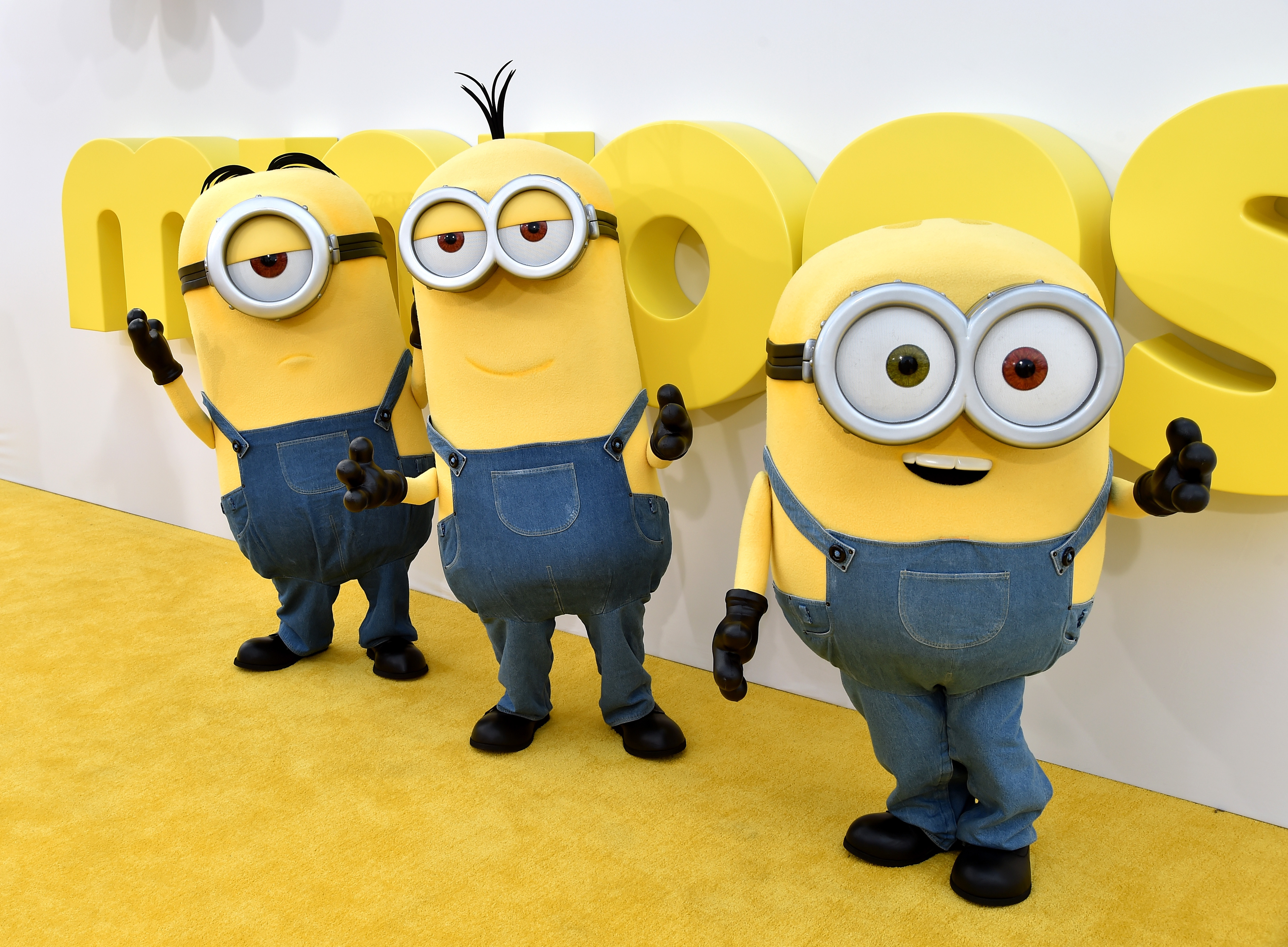 """Premiere Of Universal Pictures And Illumination Entertainment's """"Minions"""" - Red Carpet"""