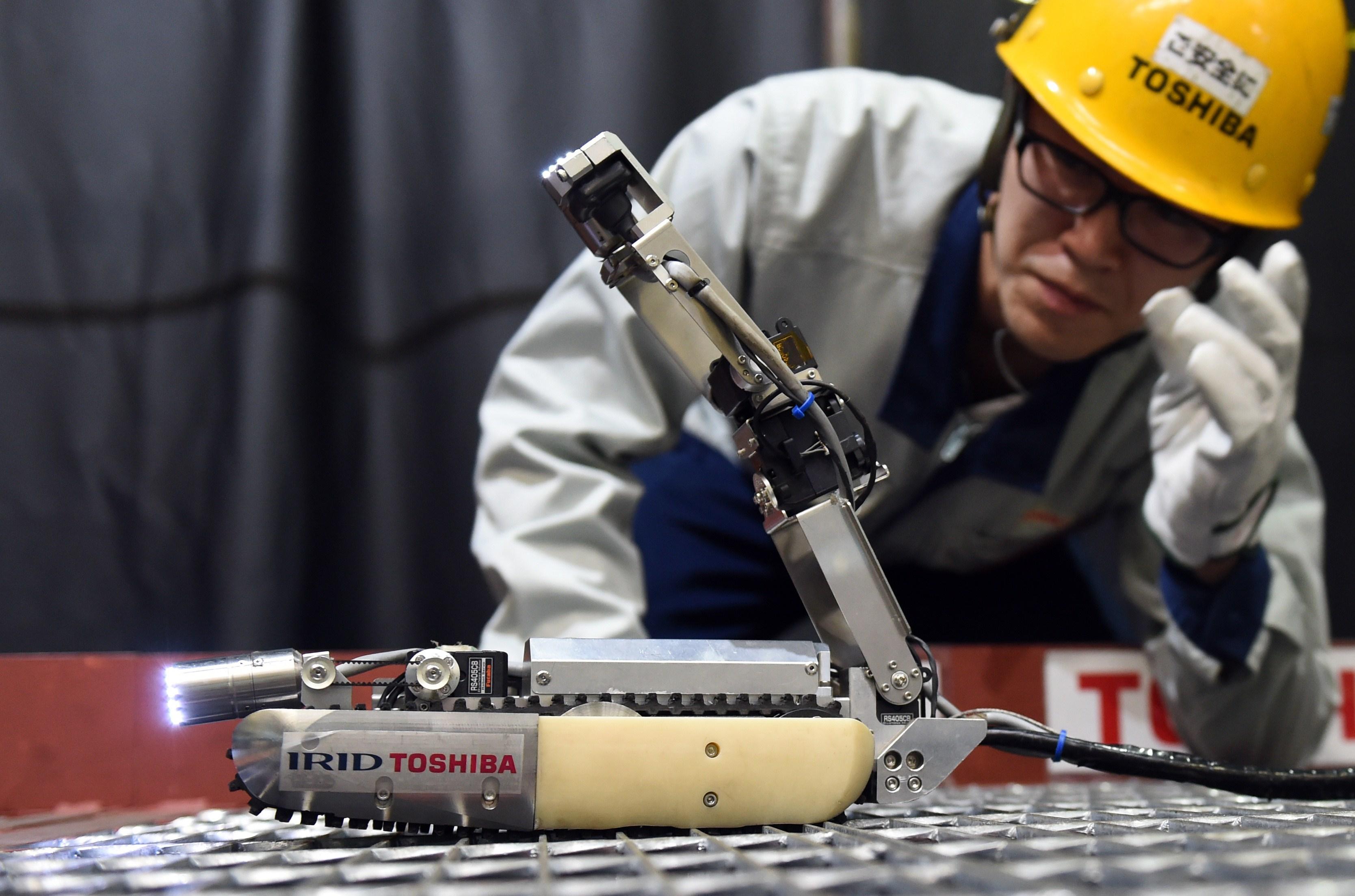 JAPAN-DISASTER-NUCLEAR-ROBOT-TOSHIBA