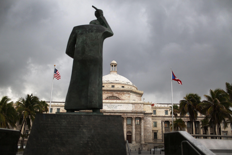 Puerto Rico's Capitol building