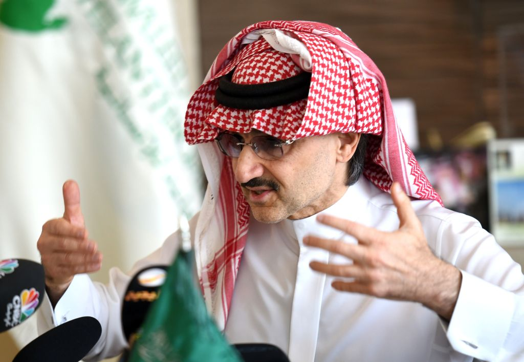 SAUDI-ROYALS-CHARITY-ALWALEED
