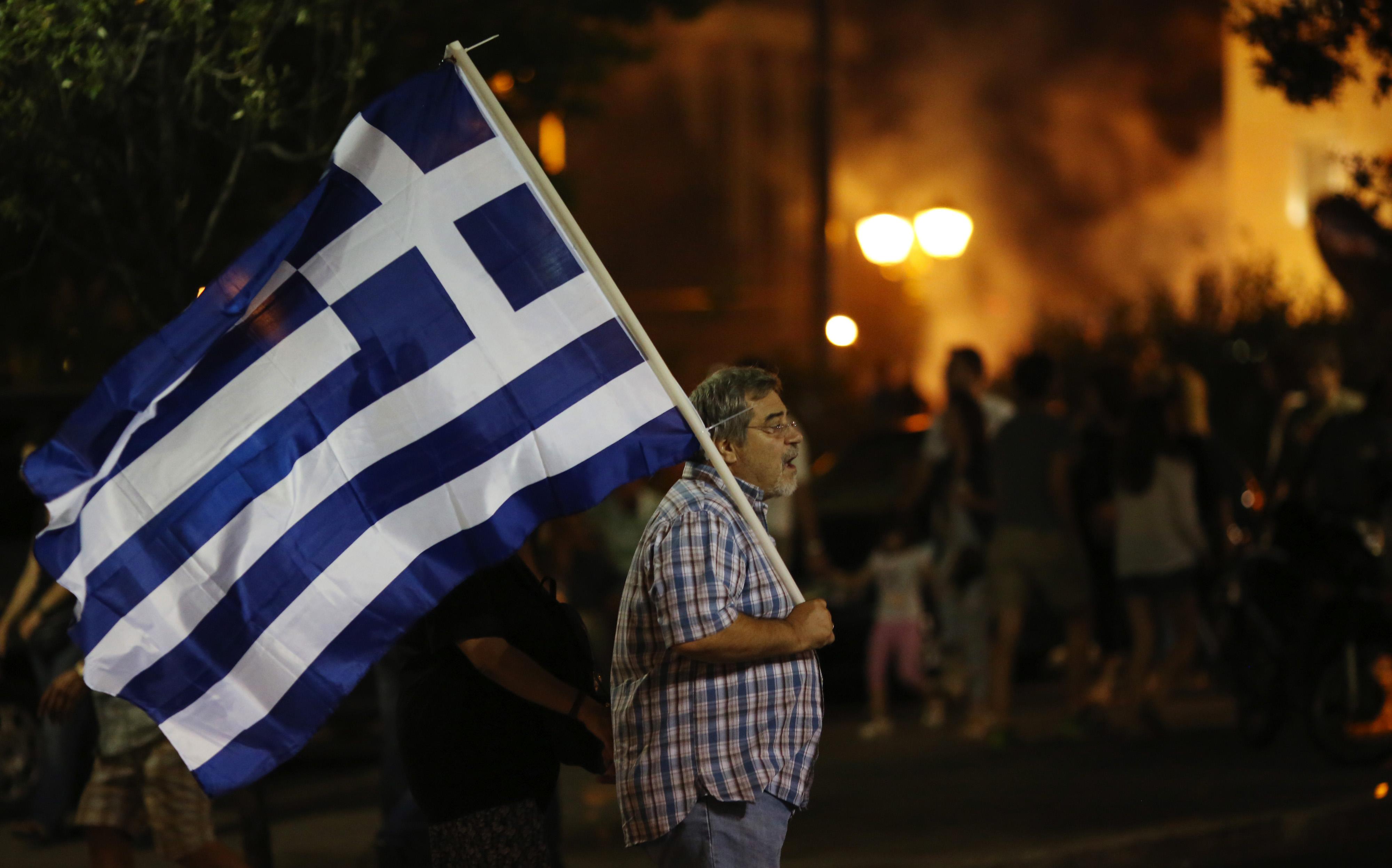 Greeks Vote In National Referendum