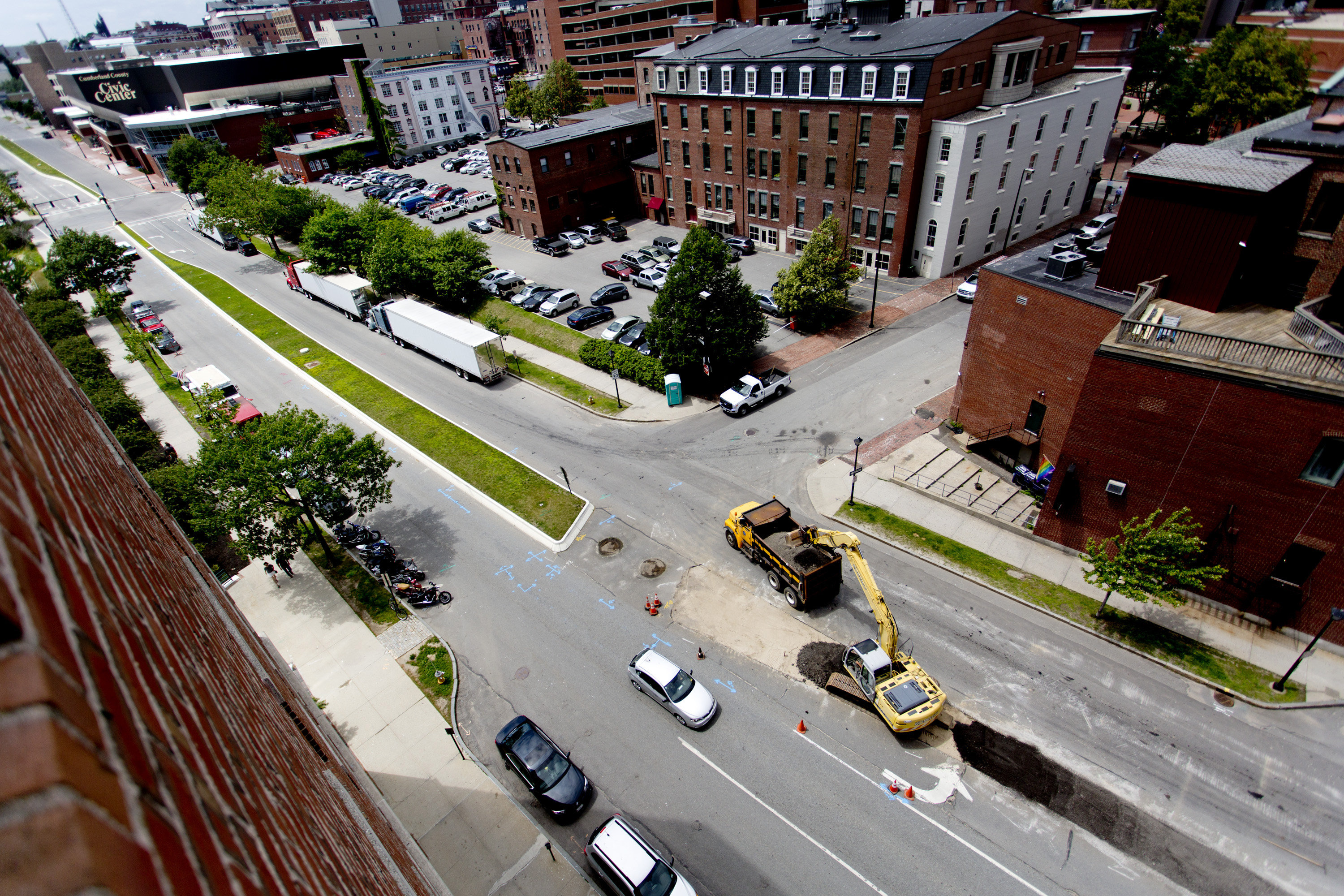 Spring Street contstruction