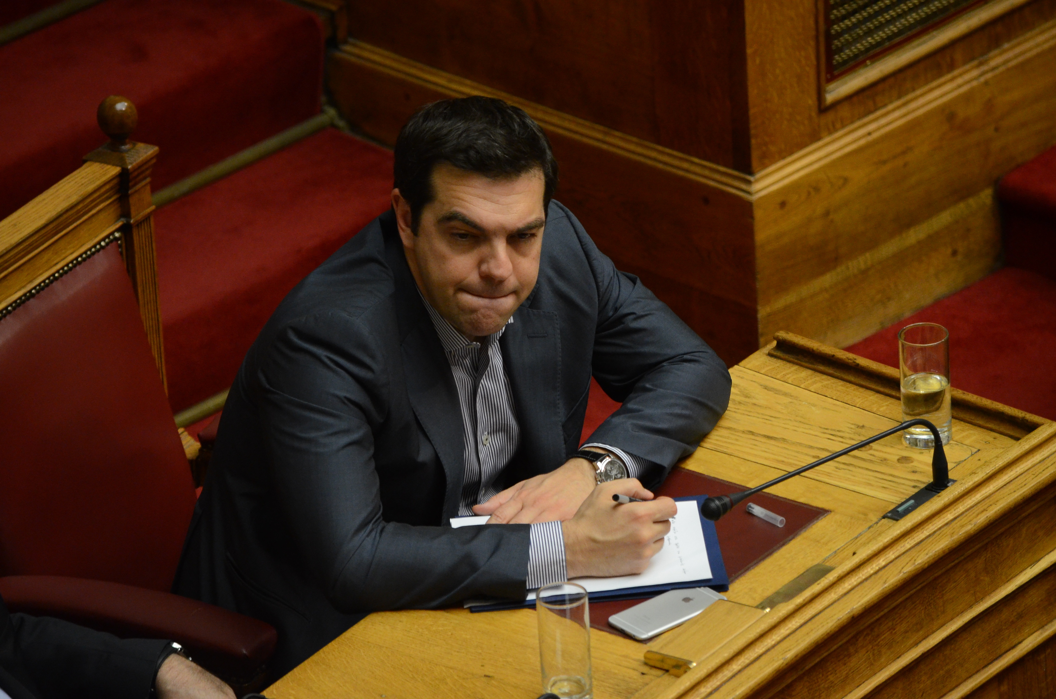 Greek Prime Minister Alexis Tsipras. Greek government asks