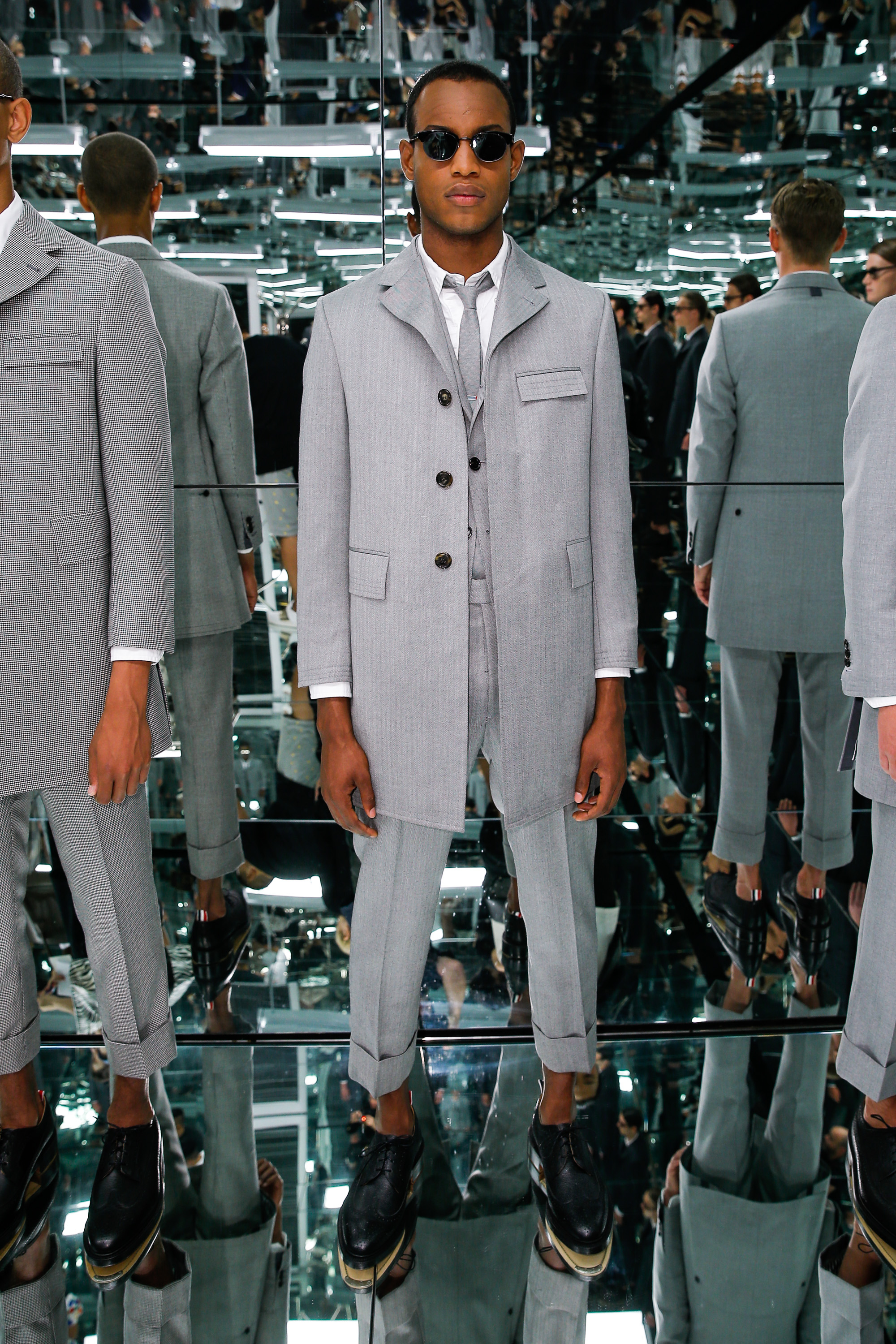 "Thom Browne ""the officeman, 2015"" - Presentation - New York Fashion Week: Men's S/S 2016"
