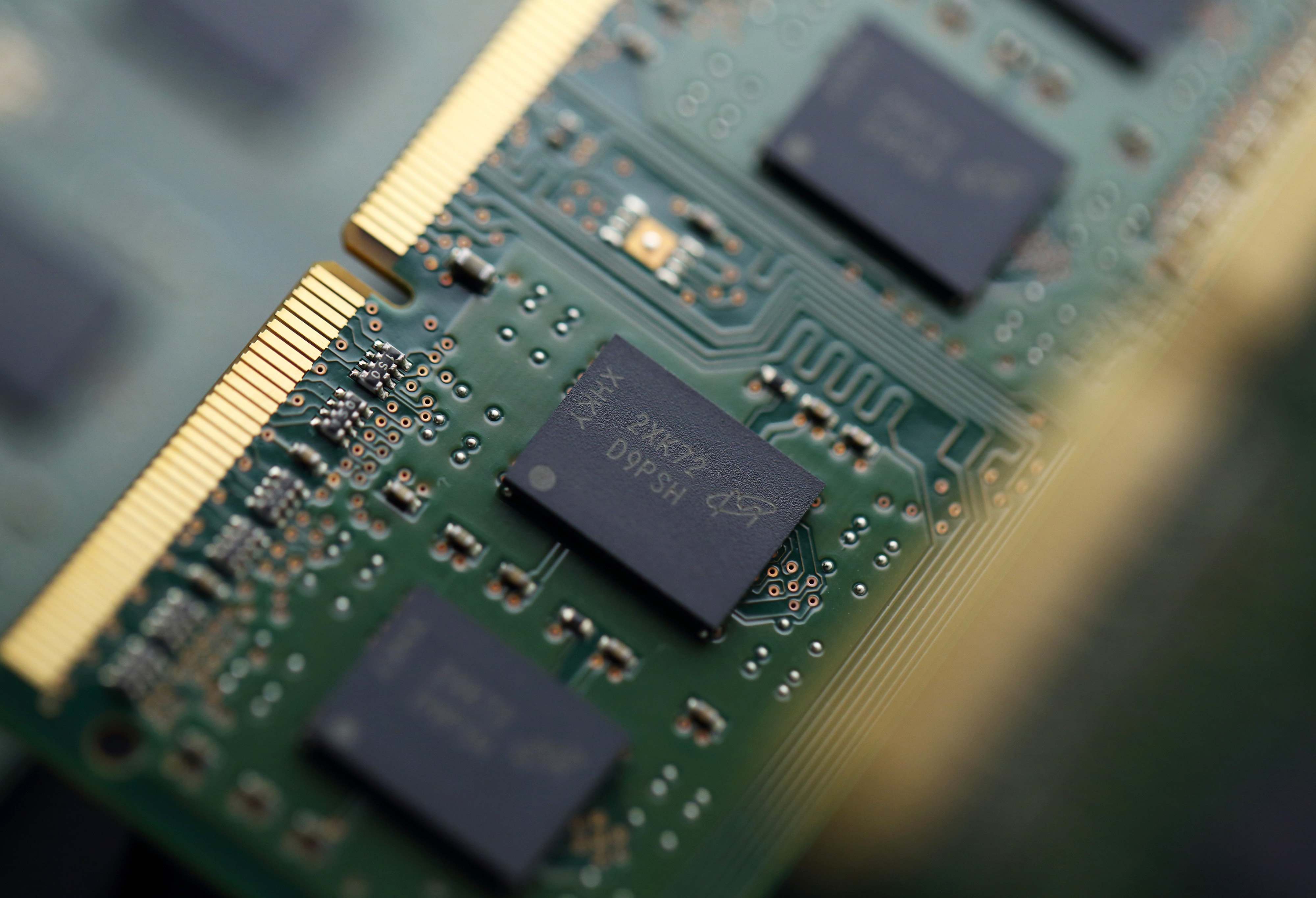 Micron Technology Inc. Memory Chips As China-Backed Takeover Bid Seen Facing Tough U.S. Review