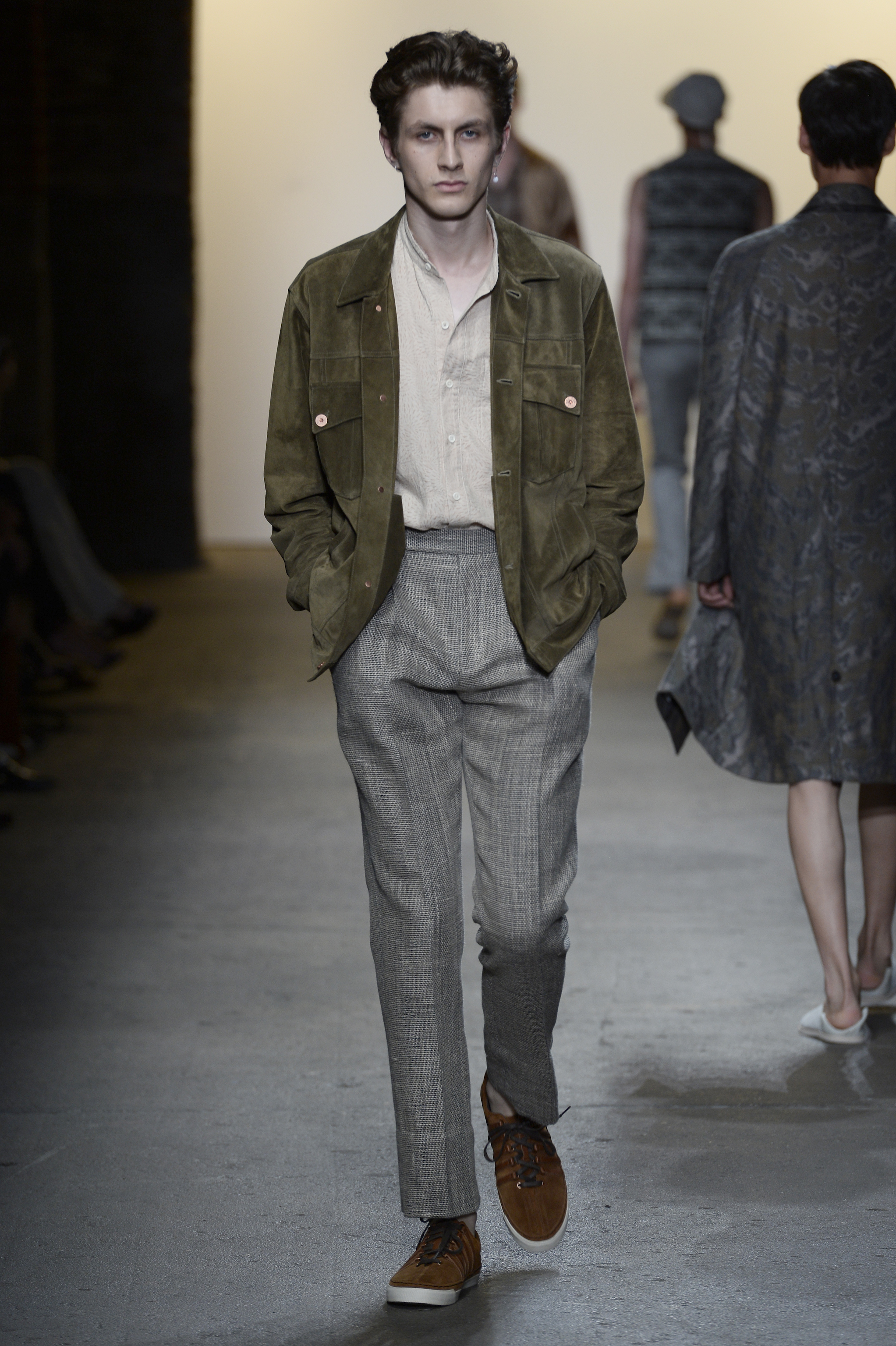 Billy Reid - Runway - New York Fashion Week: Men's S/S 2016