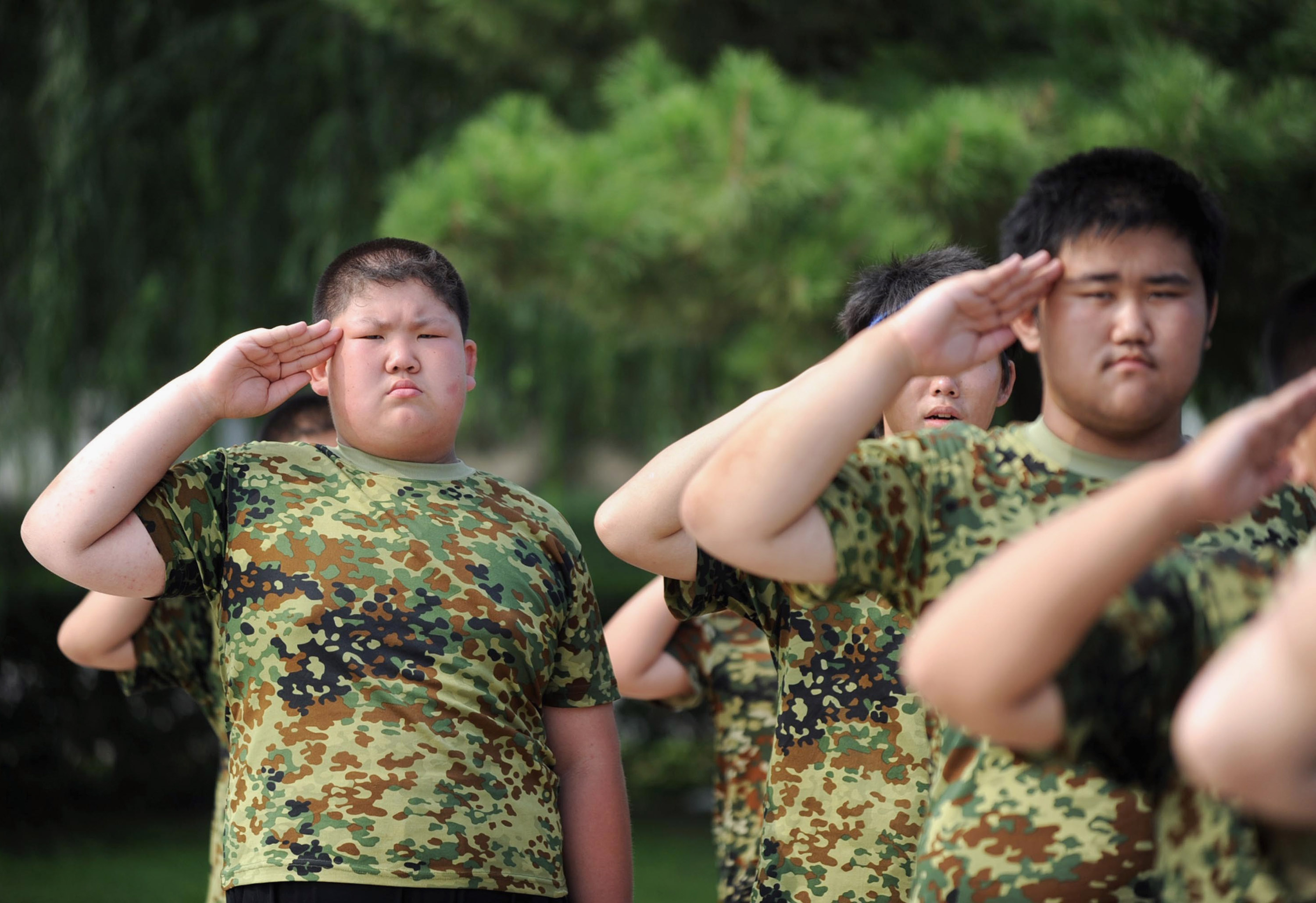 Weight-Loss Summer Camp For Students In Shenyang