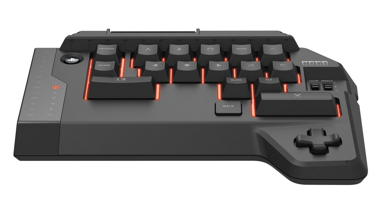The keyboard component of the Hori Tactical Assault Commander 4