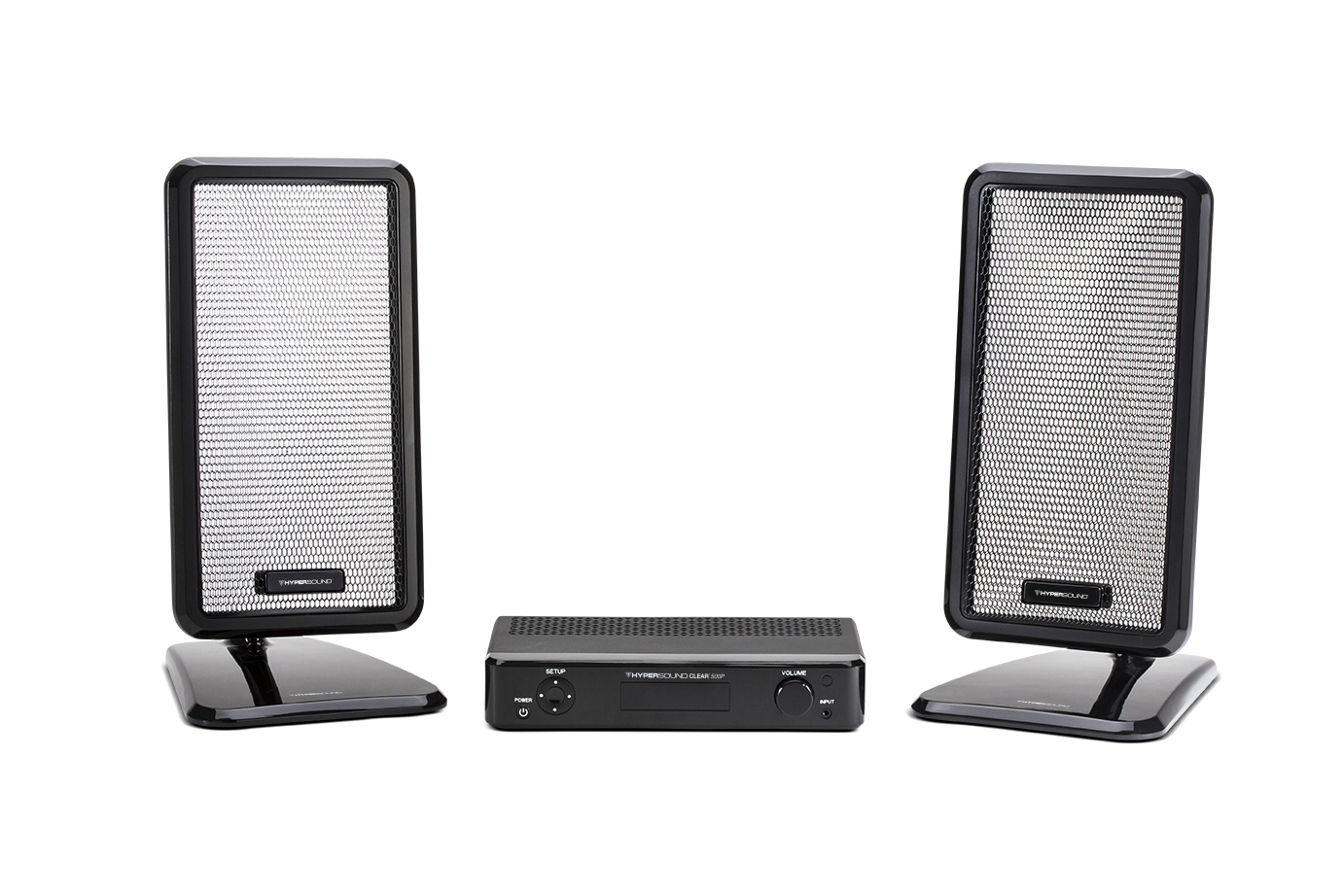 The HyperSound Clear directed audio speaker system
