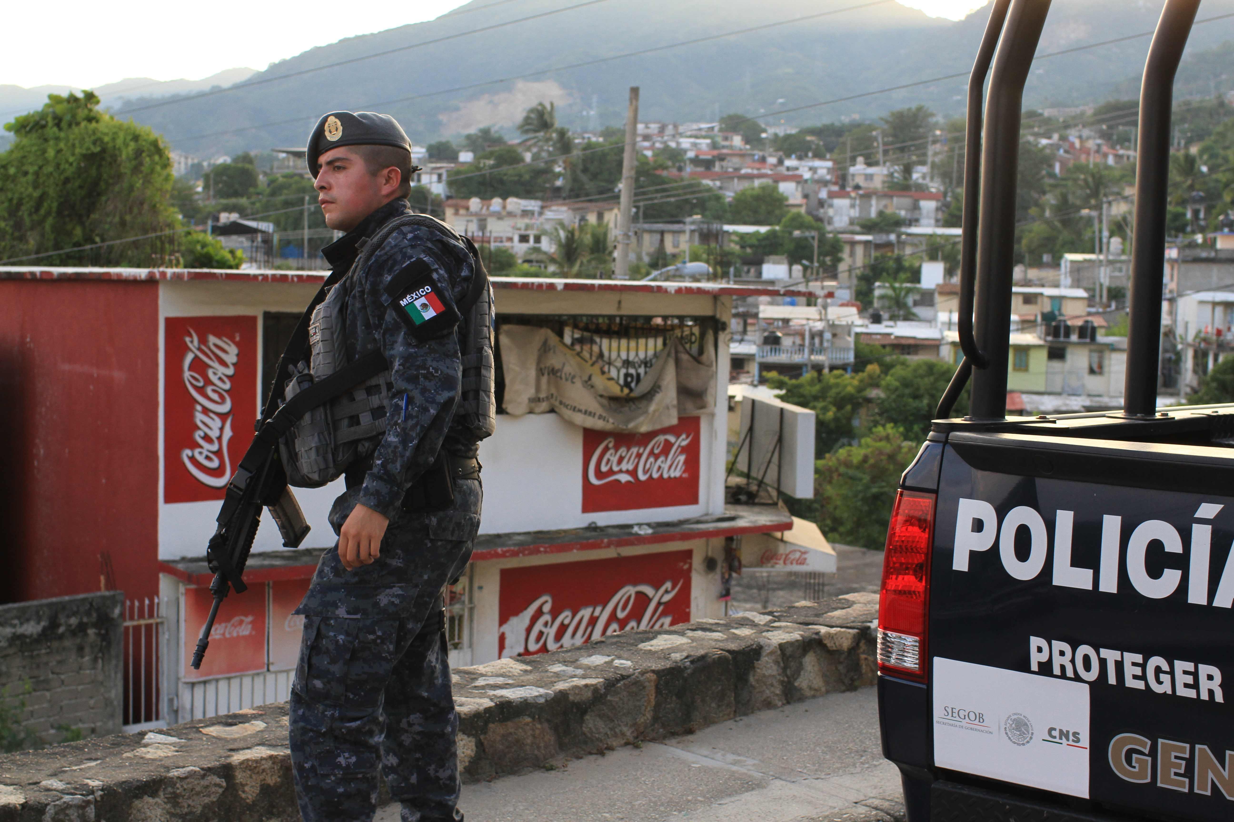 Mexico Coca-Cola Police
