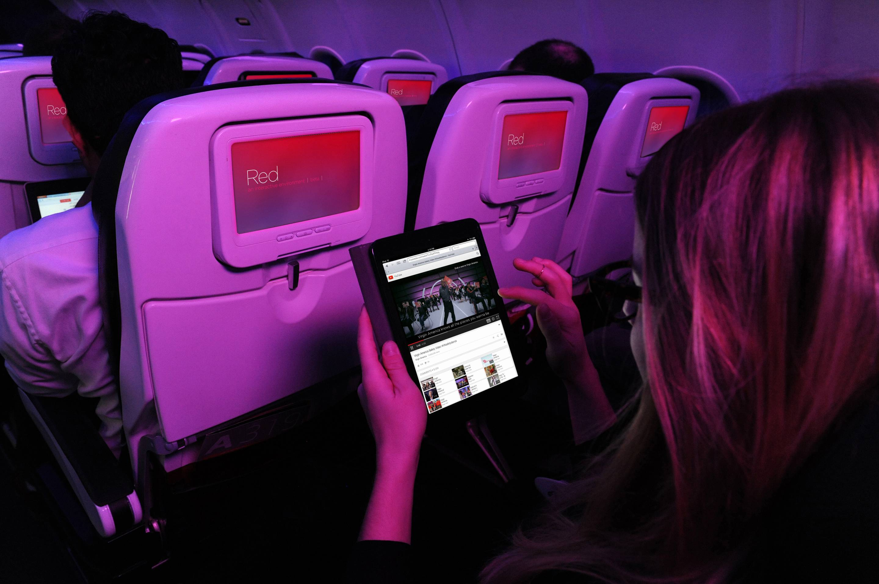 Virgin America has partnered with Viasat to launch faster inflight Wi-Fi that allows for high quality video streaming.