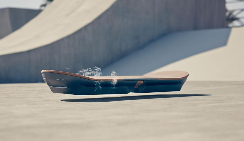 The Lexus hover board (shown) is under development in Spain.