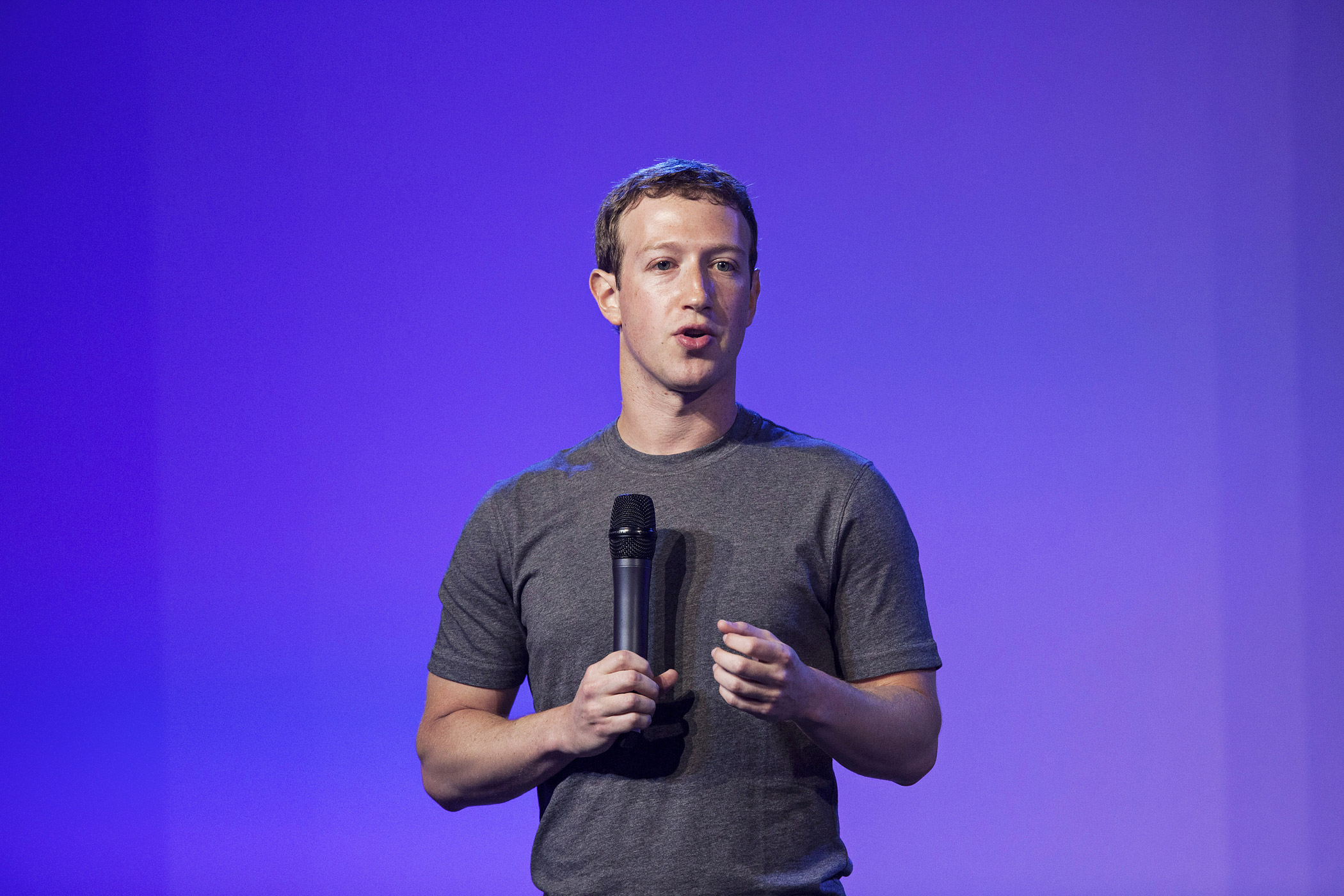 Facebook Chief Executive Officer Mark Zuckerberg Hosts Internet.org Summit