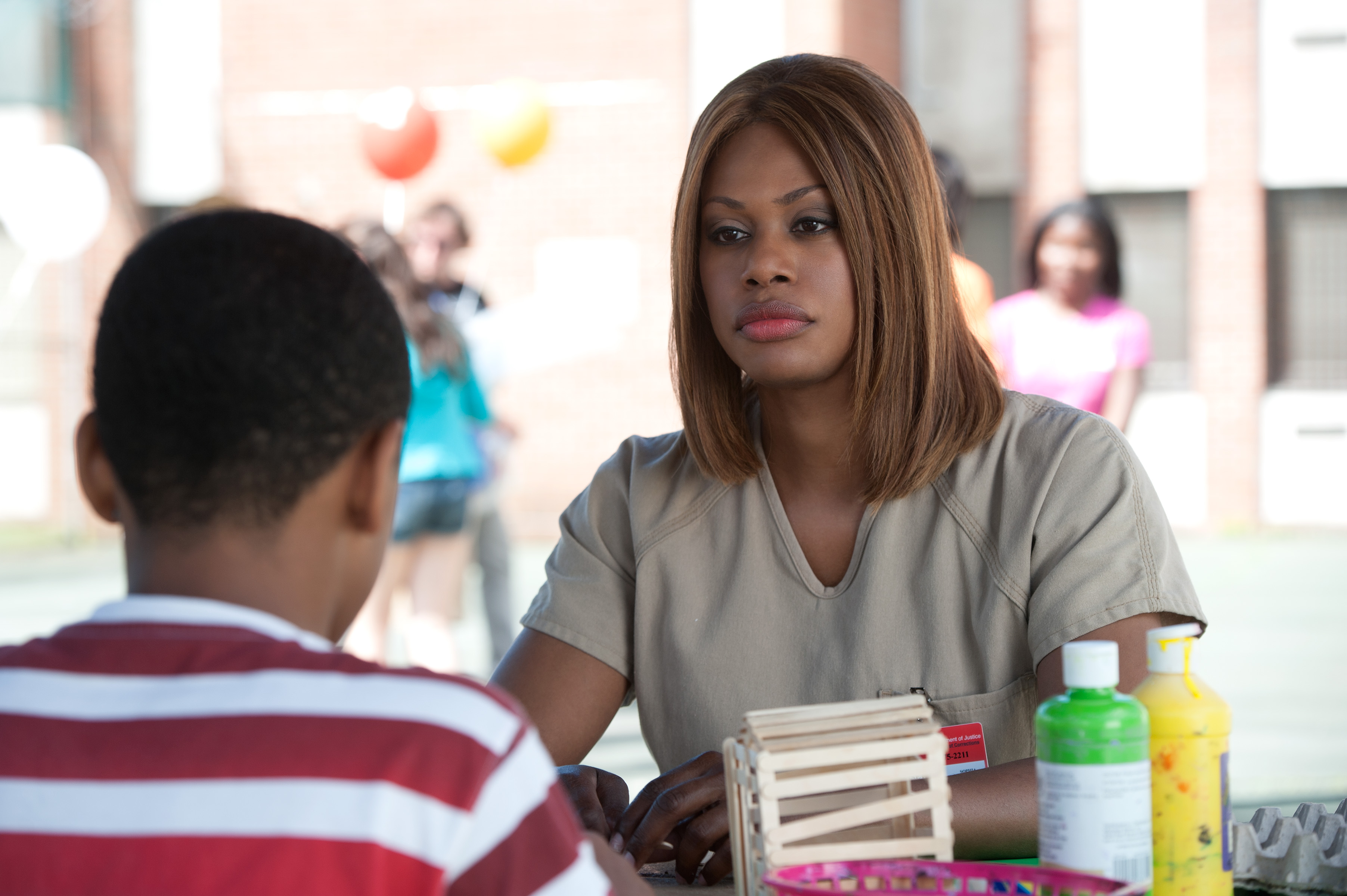 "Laverne Cox in Netflix's ""Orange is the New Black"""