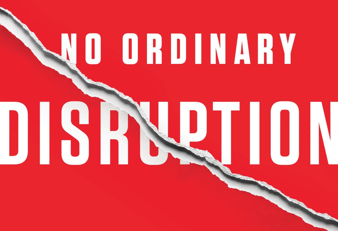 No Ordinary Disruption book cover crop