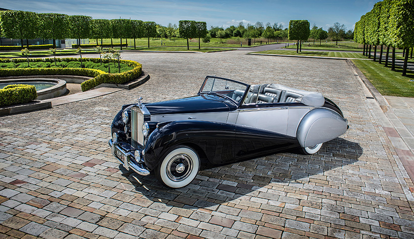 1952 Rolls-Royce Silver Dawn — one of the rarest cars in the world, and muse for the new Rolls-Royce Dawn.
