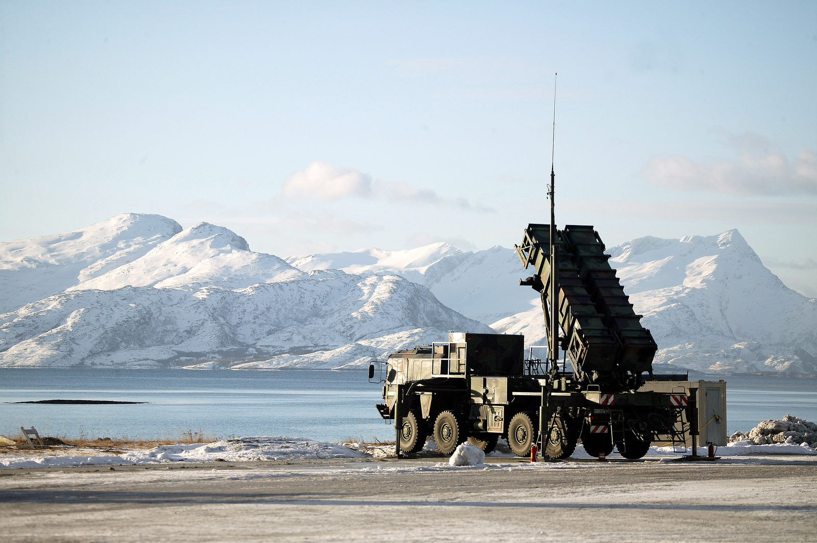 Raytheon's Patriot air defense missile system.