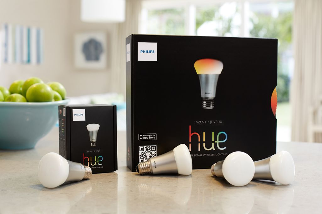 Philips Hue Smart lightbulbs