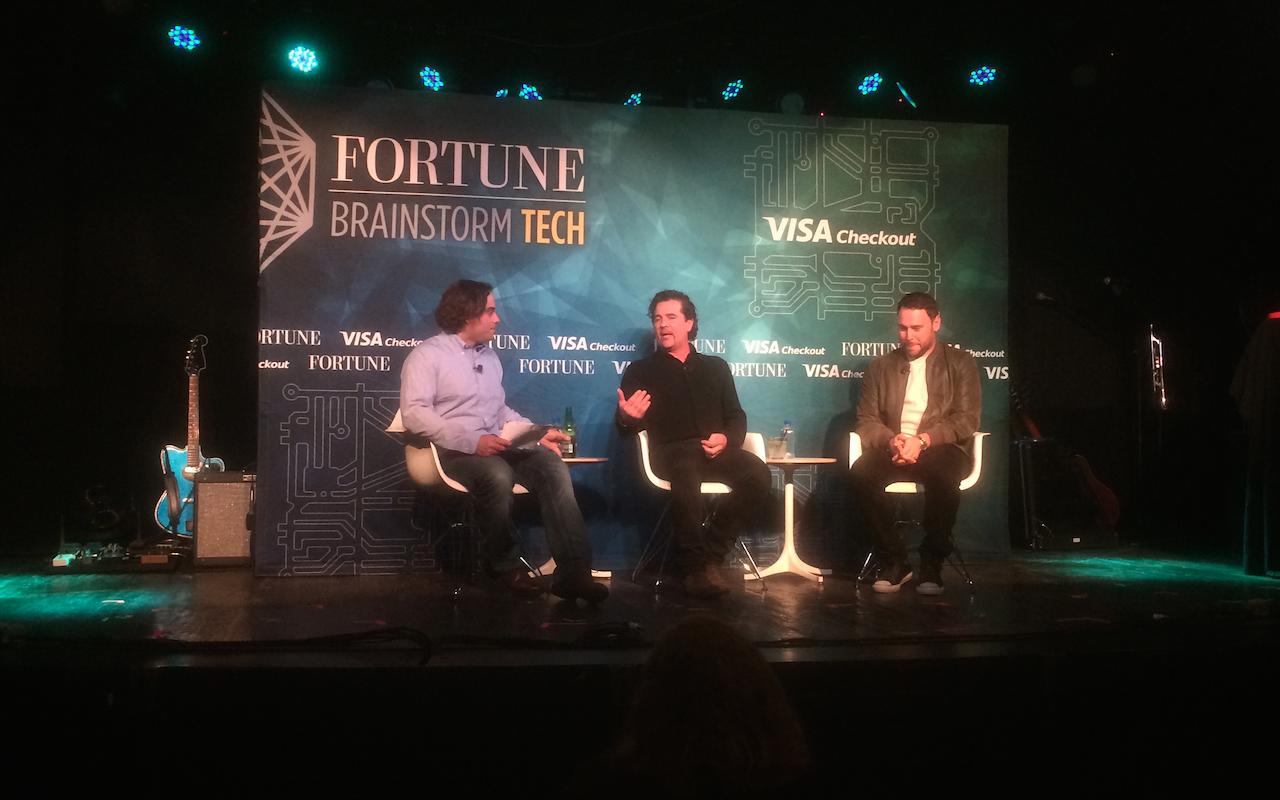 Dan Primack, Scott Borchetta, Scooter Braun at Fortune Brainstorm Tech 2015