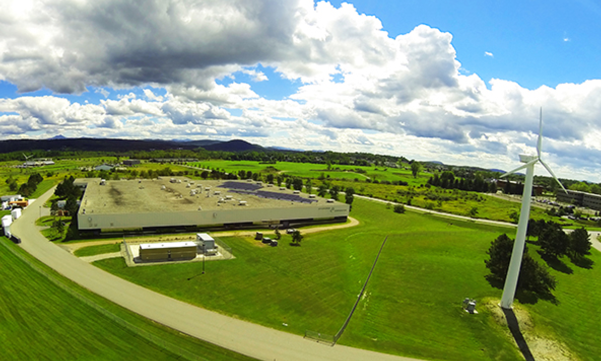 Dynapower's battery inverter factory in Vermont.