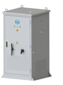 The battery inverter that Dynapower is providing for Tesla's Powerpack grid battery.