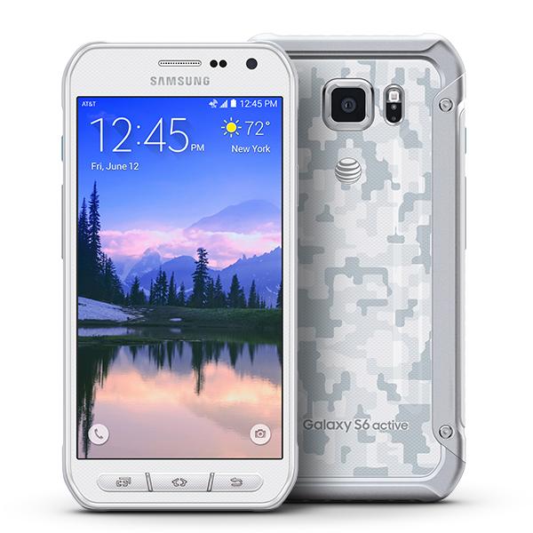 Samsung Galaxy S6 Active - White Camo