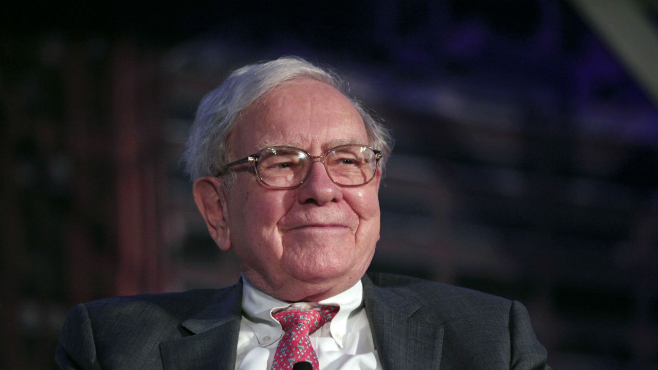 Warren Buffett, CEO of Berkshire Hathaway