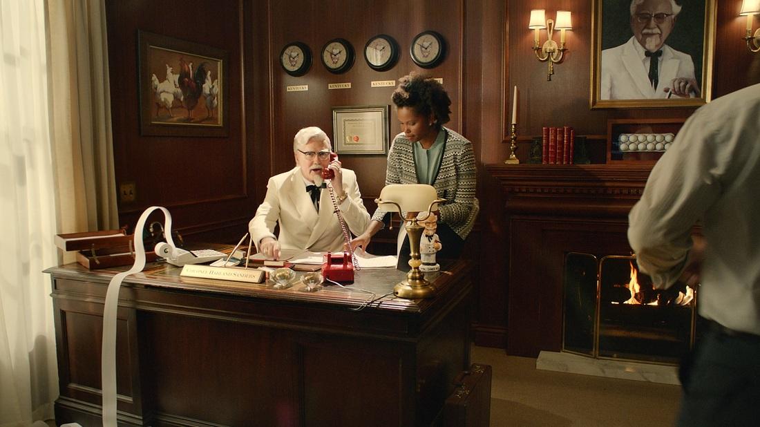 Current KFC Colonel Norm MacDonald.